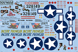 Kitsworld Kitsworld  - B-25 Mitchell 1/48 Scale Decal Sheet KW148098