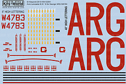 Kitsworld Kitsworld  - 1/32 Scale Decal Sheet Avro Lancaster B.III 'G for George'