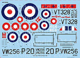 Kitsworld 1/32 Scale Gloster Meteor Mk.IV - F4 Gloster Meteor KW132068