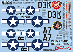 Kitsworld Kitsworld 1/48 Scale Decal Sheet