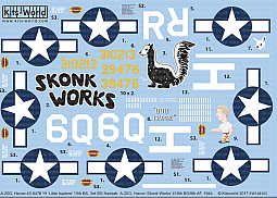 Kitsworld Kitsworld  - 1/48 A-20 Douglas Havocs Kitsworld KW148165 A-20G Douglas Havoc