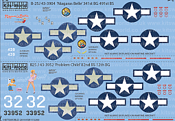 Kitsworld Kitsworld  - 1/72 Scale North American B-25J Mitchell
